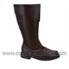CAPTAIN-105 Brown Faux Leather